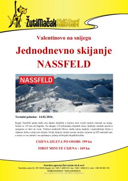 Valentinovo u Nassfeldu uz skijanje