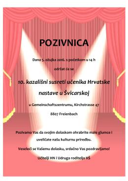 Pozivnica - Croatia.ch