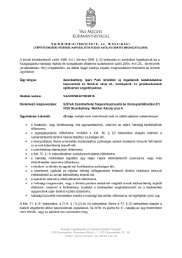 A VA/UO/NS/A/192/3/2016. sz. hirdetmény megtekintéséhez