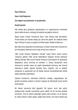 Serap Ağırer, Konrad-Adenauer-Stiftung
