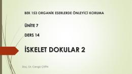İskelet - Ankara Üniversitesi Açık Ders Malzemeleri