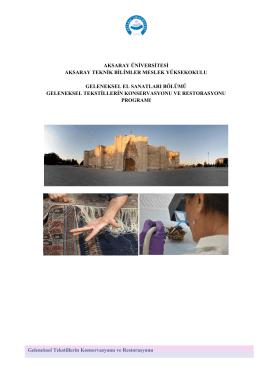 Tanıtım - Aksaray Meslek Yüksekokulu