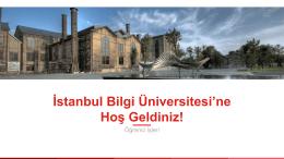 Öğrenci İşleri - İstanbul Bilgi Üniversitesi