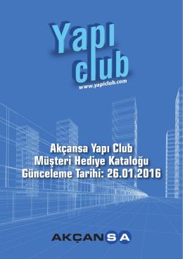 Yapı Club Kataloğu