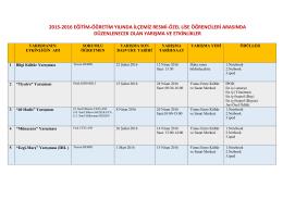 2015-2016 eğitim-öğretim yılında ilçemiz resmi