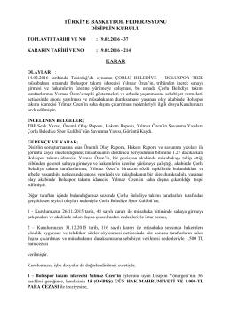 karar 214 çorlu belediye