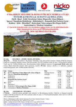 tur ve fiyat detayı - Golden Bay Cruise Gemi Turları