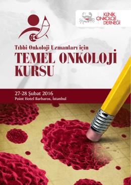 temel onkoloji kursu - Klinik Onkoloji Derneği