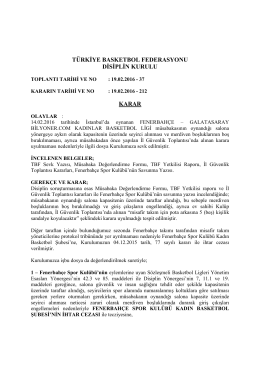 karar 212 fenerbahçe – galatasaray bilyoner.com kadınlar