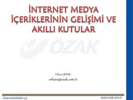 OZAK- Orhan Sener