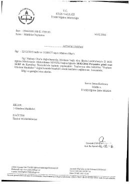 TC - Kilis Milli Eğitim Müdürlüğü