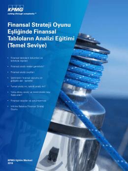 Finansal Strateji Oyunu Eşliğinde Finansal Tabloların Analizi
