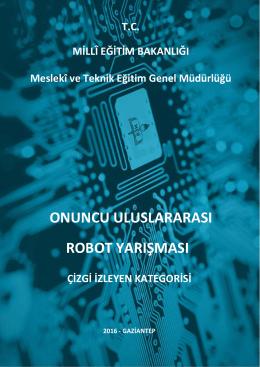 onuncu uluslararası robot yarışması