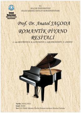 Romantik Piyano Resitali