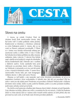 Únor - Římskokatolická farnost Opava