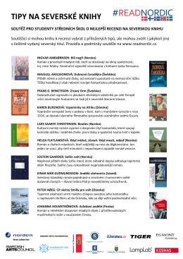 tipy na severské knihy – dokument ke stažení