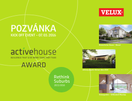 pozvánka kick off event – 07. 03. 2016