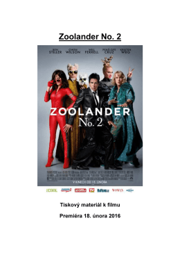 Zoolander No. 2 - Cinemart a.s.