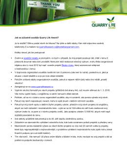quarry_life_award_jak_se_zucastnit