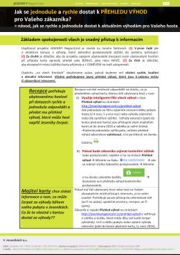 Manuál pro přístup k informacím (PDF ke stažení)
