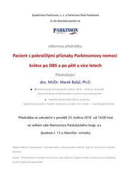 Baláž - Společnost Parkinson