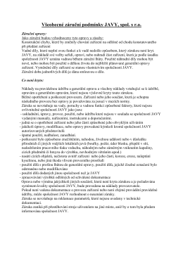obch. dokumentace