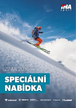 Speciální nabídka 2016