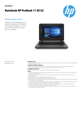 Notebook HP ProBook 11 EE G2