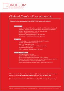 PDF Stáž únor 2016