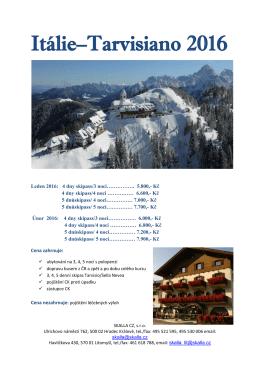 Itálie–Tarvisiano