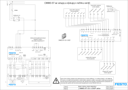 Schéma CMMO-ST v režimu ventil