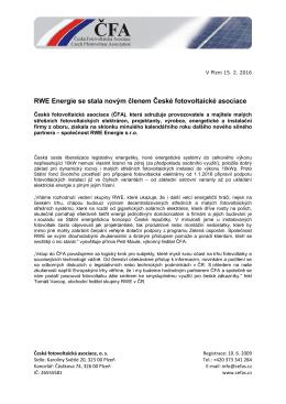 Tisková zpráva ke stažení ve formátu pdf zde.