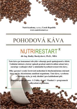 Pohodová káva - Nutrirestart