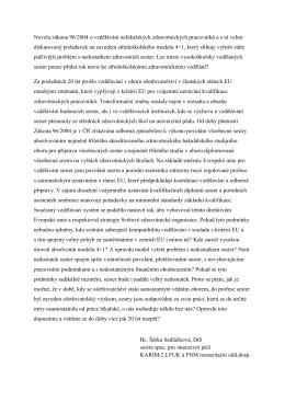 Šárka Sedláčková