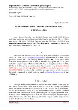 LK-09 - OSHb Teplice