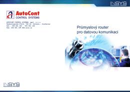 Obecné informace - AutoCont Control System