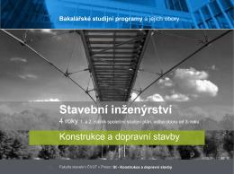 Konstrukce a dopravní stavby