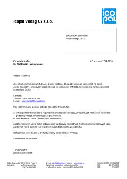 Profesionální dopis