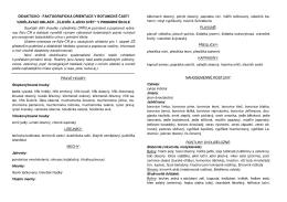 Didakticko-faktografická orientace botanická