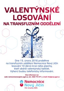 na transfuzním oddělení