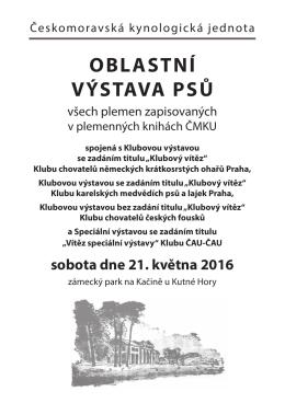 Propozice - OMS Kutná Hora
