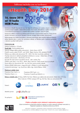 eHealth Day 2016