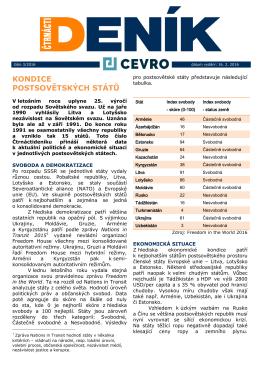 3/2016 - Cevro