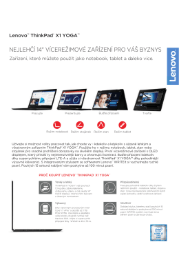 Lenovo™ ThinkPad® X1 YOGA