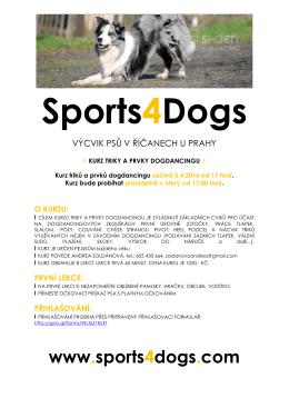 více informací - sports4dogs.com