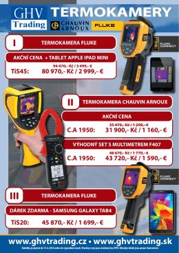 Akce 2016 - I - Termokamery