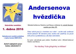 Andersenova hvězdička - Městská knihovna Němčice nad Hanou