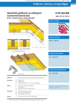 Akustické podkroví s dřevěným záklopem_55dB_4.70.16