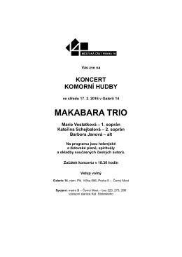 makabara trio