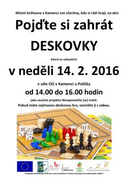pozvánka - Obec Kamenec u Poličky